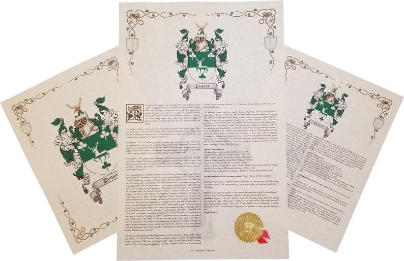 Find Your Name Here: Coat of Arms - Three Print Combo - England / English  Origin (Gabaldon - Ozmon)