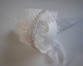 Vintage baby lace bonnet baby bonnet baby girl photo prop  2da8dd00388