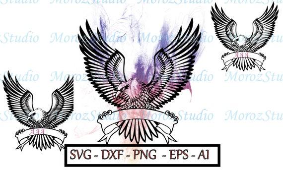 70% OFF Svg del águila águila calva svg cuarto de archivo | Etsy