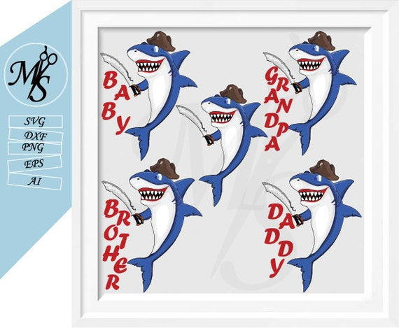 Shark Sunglasses Svg Shark Svg Girl Shark Svg 60 /% OFF Mama shark svg Baby Shark Family svg Shark Clipart Cute Funny Kids Beach Svg