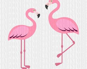SVG Flamingo Cut File, flamingo SVG , Silhouette Cut File, flamingo file, Cricut Cut Files, flamingo Clipart, SVG Files flamingo