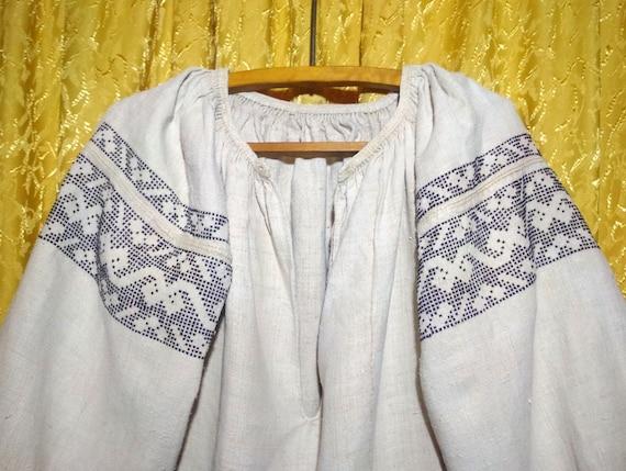 Embroidered Ukrainian Dress Vintage Vyshyvanka  Fe