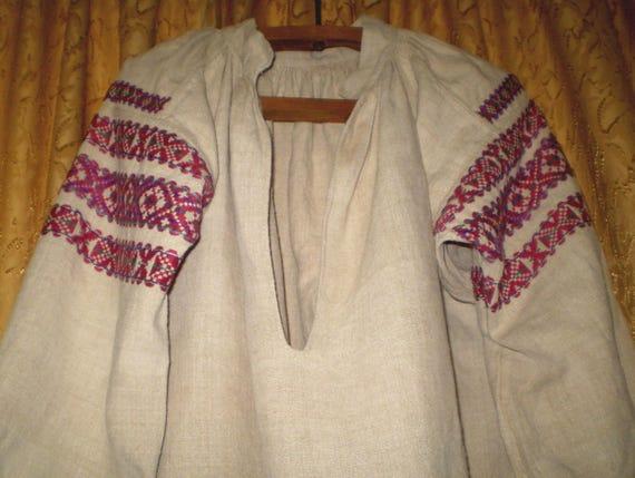 Vintage Ukrainian Dress Polessye Vyshyvanka Embroi