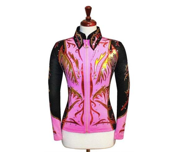 X-LARGE  Western Showmanship Pleasure Horsemanship Show Jacket Shirt Rodeo Queen