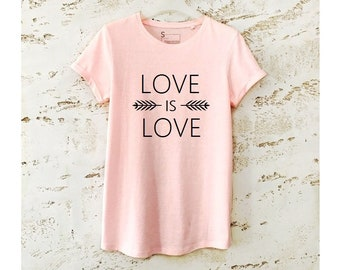 Love is Love Shirt, Love T-Shirt, Equality Shirt, Lesbian Shirt, Gay Pride Shirt, Equality Tee, Love is Love T-Shirt, Pride Week, Lesbian