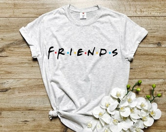 0d1e4b0f5 Friends TV Show Shirt, Women's Shirt, Friends T-Shirt, Tees, Gift for  Friends, Friends Tees, Friends Shirt, Tops