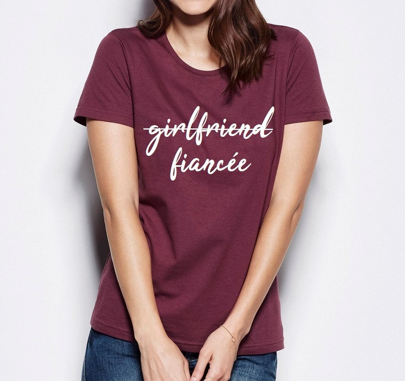 0e3333f08ab2 Fiancee Shirt Fiance T-Shirt Engaged Shirt Fiance Shirt