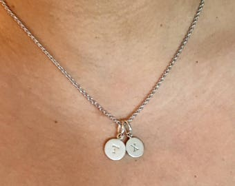 Ultimate Initial Necklace • Initials Necklace • Personalized Necklace • Dainty Necklace • Letter Necklace • Mothers day gift