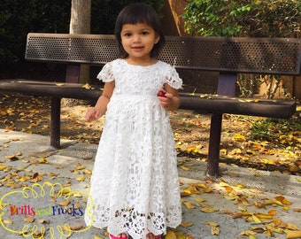 1fb664a3228 Infant flower girl dress