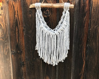 Small Boho Macrame Wall Hanging