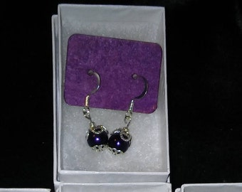 Caged Pearls Earrings