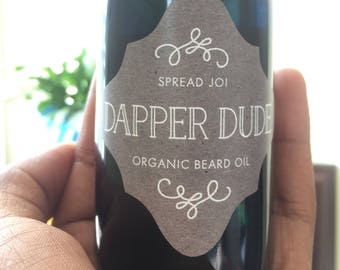 Dapper Dude Organic beard oil