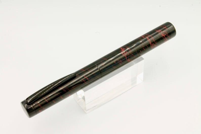 premier ebonite fountain pen The Black Hole II