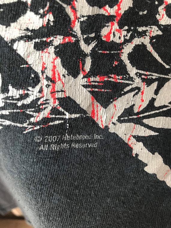 Hatebreed hardcore vintage tshirt - image 3