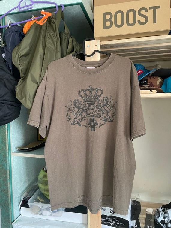 Shortys skateboarding vintage lions crest tshirt