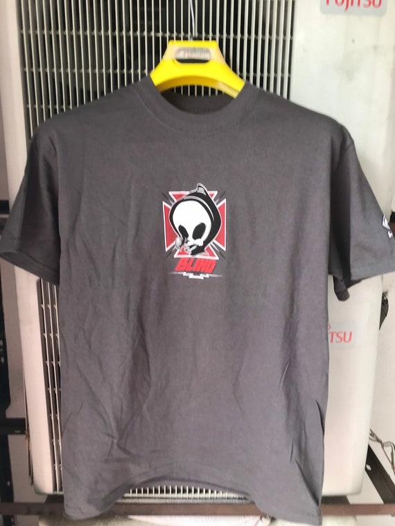 Blind skateboards vintage tshirt grim reaper