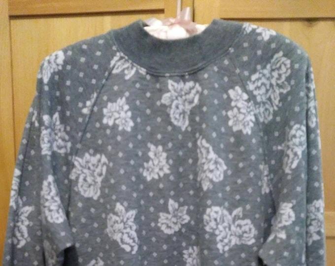 Up scale sweatshirt by Cathy Daniels 80s