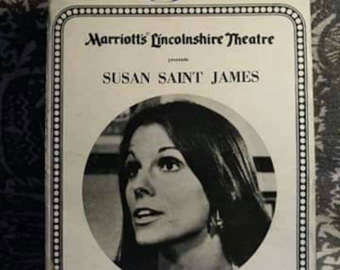 Vintage Playbill 70s Susan Saint James this is a very rare playbill Ready when you are cb