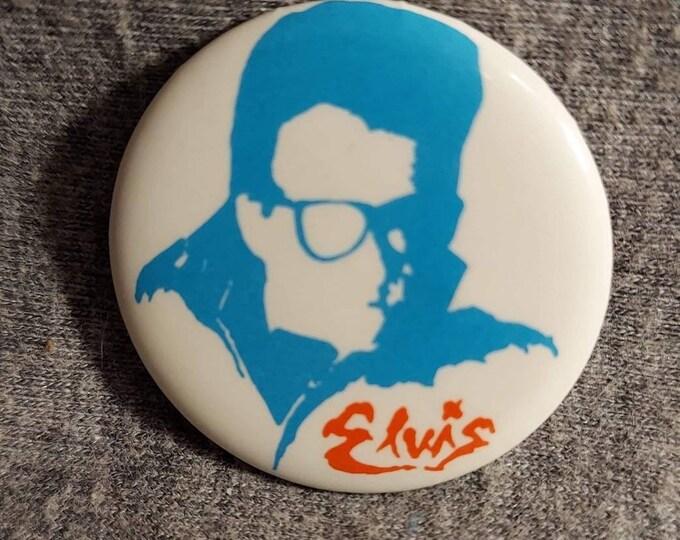 Elvis costello vintage button 80s