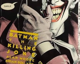 Batman the Killing Joke alan moore brian bolland John Higgins collector comic book 80s