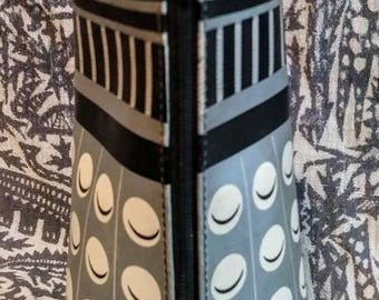 Dr. Who rare Dalek pencil case. You will obey, obey, obey. 80s