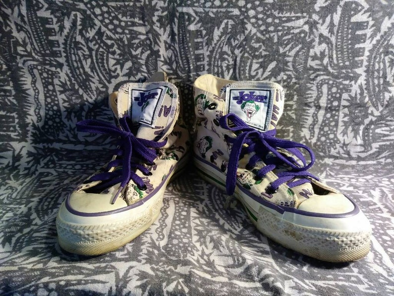 10e3ececdd24 Joker Converse All Star DC Comics 1989
