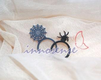 the Web - acrylic ring