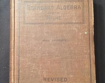 Standard Algebra by William J Milne