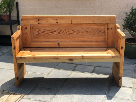Surprising Pew Church Pew Reclaimed Pew Reclaimed Door Shoe Bench Hallway Bench Hallway Seating Handmade Bench Creativecarmelina Interior Chair Design Creativecarmelinacom