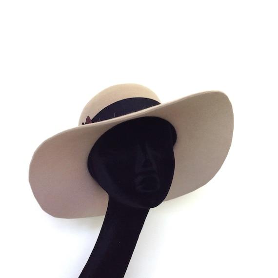 Fedora hat floppy wide brim 70s style  159f35f8b9f8