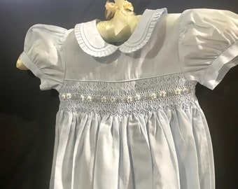 d1dc81fe993aa Vintage Carriage Boutiques Smocked Bubble Romper
