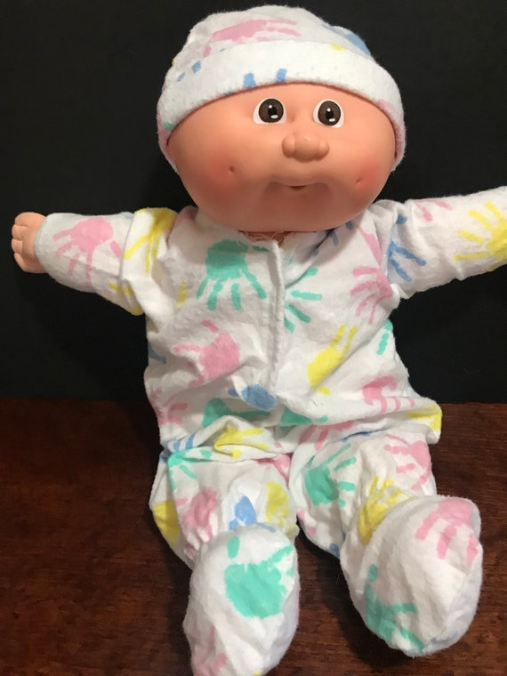 CPK doll clothes//16-18 inch//pajama pant set//slippers//pillow