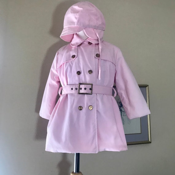 Vintage 1950/60 Jack n Jill Togs Toddler Trench Co