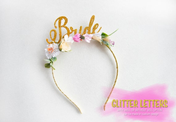 Bride To Be Headband Bride Party headband Gold Bride To Be  f1386456ef4