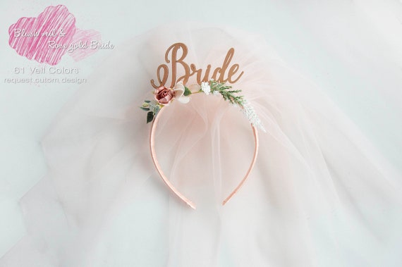 Bride To Be Headband Rose Gold Bride To Be Headband  9864f10af90
