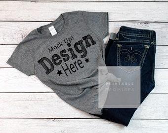 Download Free Grey T Shirt Mockup, Gildan 500L Shirt Mock up, T Shirt Mock Up, Grey Mock Up Shirt, Mock Up Shirts, Vinyl Shirts Display PSD Template