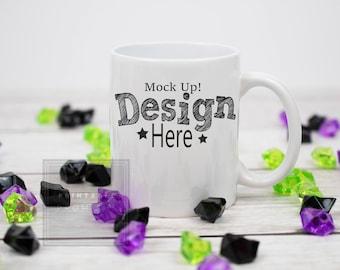 Groovy Halloween Mug Mockup Coffee Mug Mockup Printful Mug Mock Up Machost Co Dining Chair Design Ideas Machostcouk
