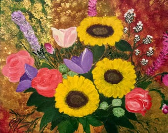Paintings Fine Art Flower Painting