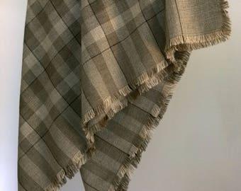 Traditional Finnish wool scarf Secret