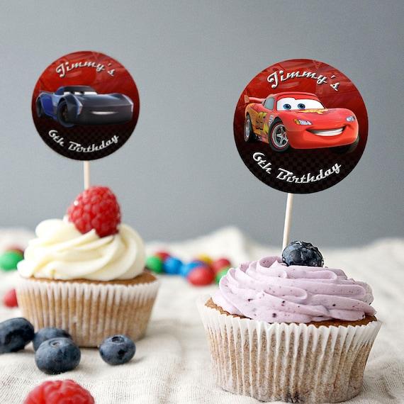 Disney Cars Geburtstags Kuchen Deckel Disney Cars Kuchen Etsy