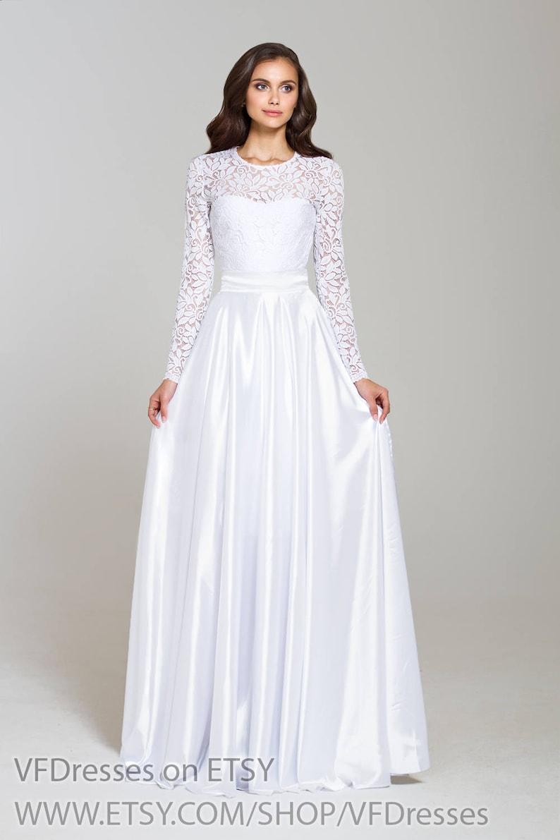 755b40fe07 Biała suknia wieczorowa sukienka kobiet na specjalne okazje