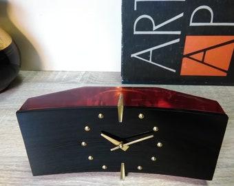 Good dsstyles réveil led réveil numérique en bois horloge cube