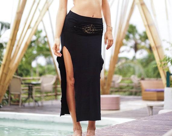Printed Belt Dakini Skirt
