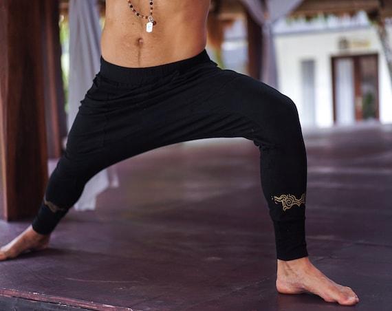 Tao Men Bamboo Pants with Print
