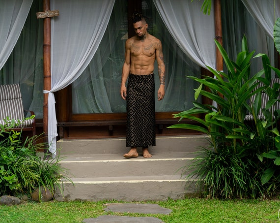 Transformer Sarong with Sacred Geometry Pattern