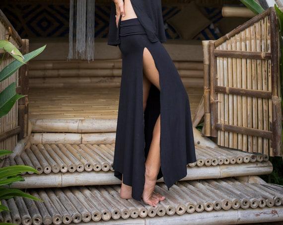 Long Inhale Skirt