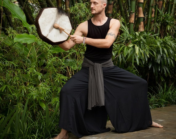 Men Samurai Dance Pants