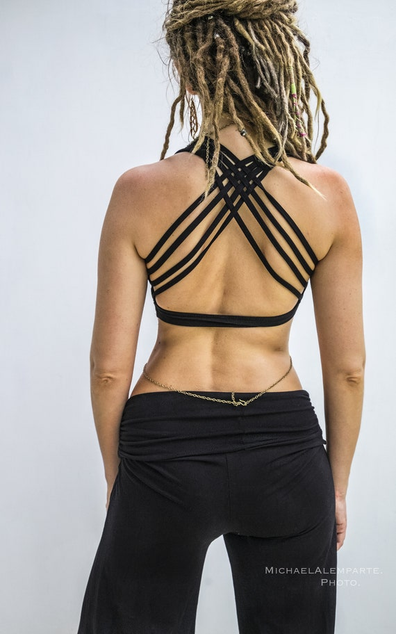 Cross Strap Yoga Bralette