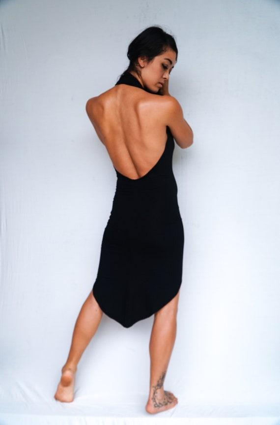 Asymmetrical Cocktail Dress