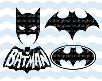 batman face svg etsy
